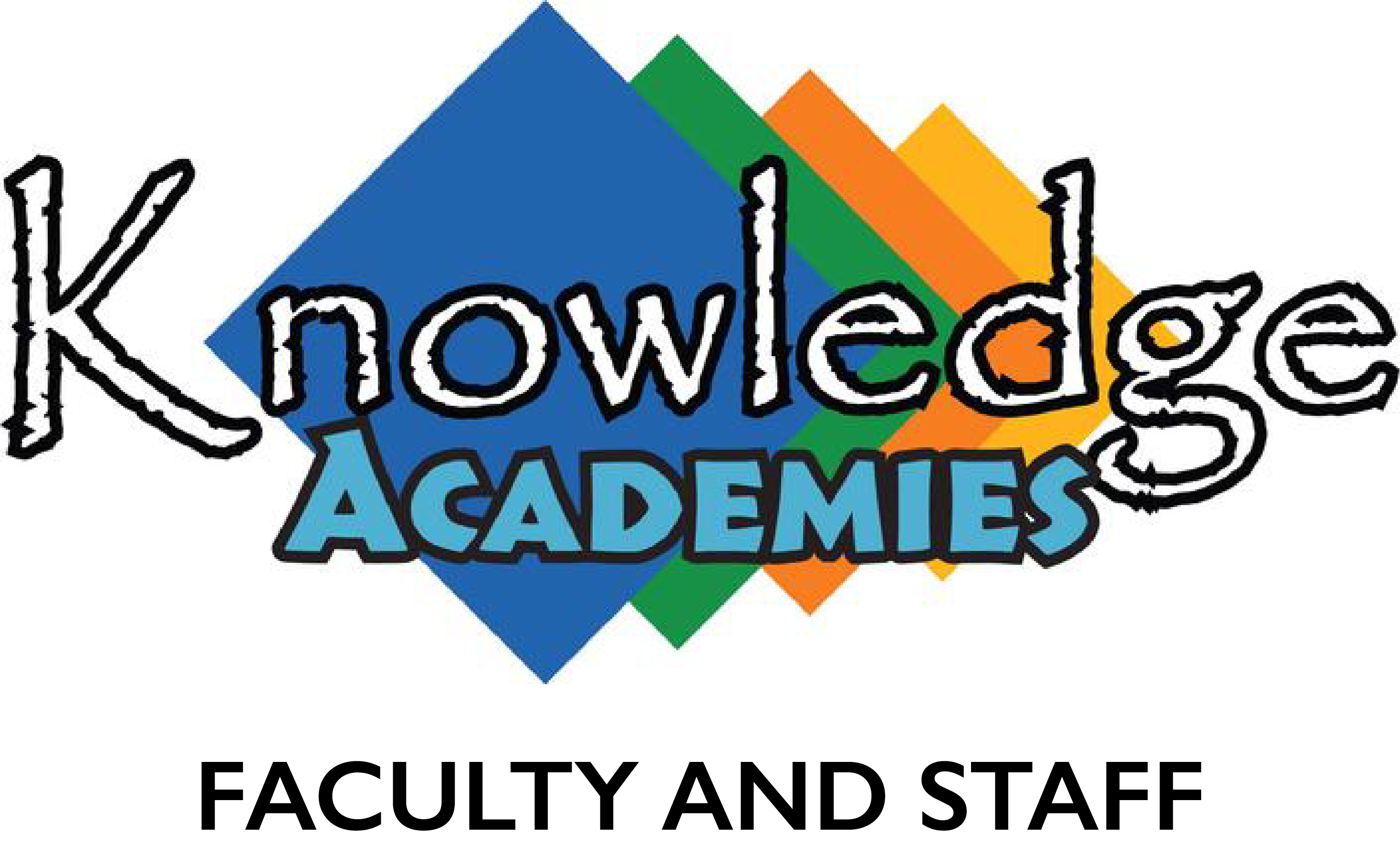 Knowledge Academy Logo for Staff and Faculty Uniforms